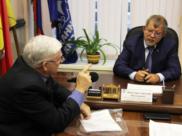 Аркадий Пономарев встретился с Владимиром Момотом.