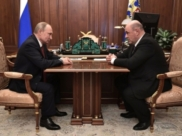 Владимир Путин и Михаил Мишустин.