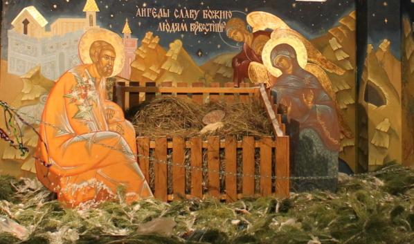 Рождество в Воронеже.
