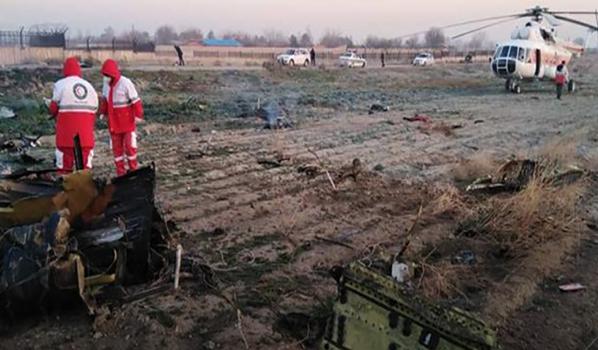 Украинский Боинг упал в Тегеране.