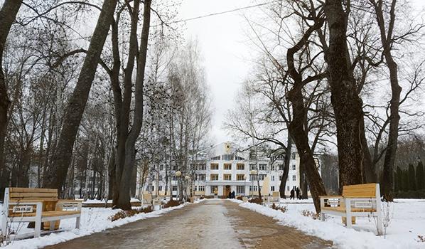 Санаторий имени Дзержинского.