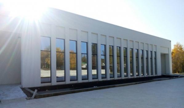 Крематорий в Воронеже.