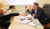 Вадим Кстенин провел прием граждан.