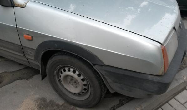 Водитель ВАЗа пострадала.