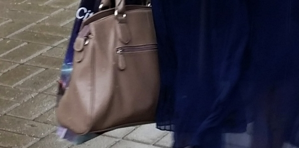 У женщины пытались отнять сумку.