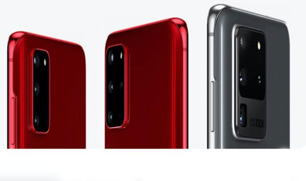 Galaxy S20, Galaxy S20+ и Galaxy S20 Ultra.