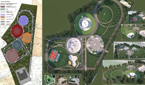 Дизайн-проект благоустройства парка «Мостозавода».