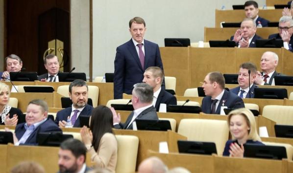 Алексей Гордеев стал зампредседателя Госдумы.