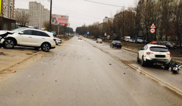 ДТП на улице 60 Армии.