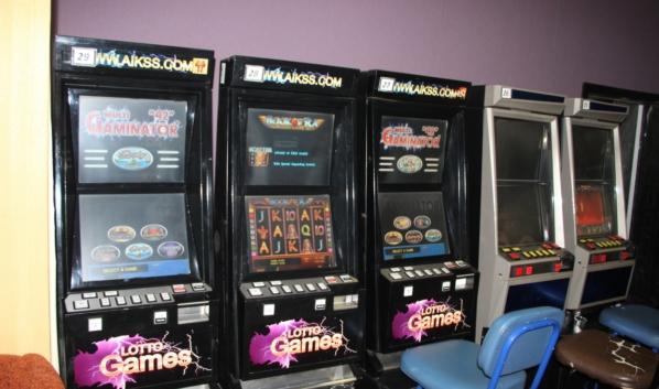 Игровые автоматы.