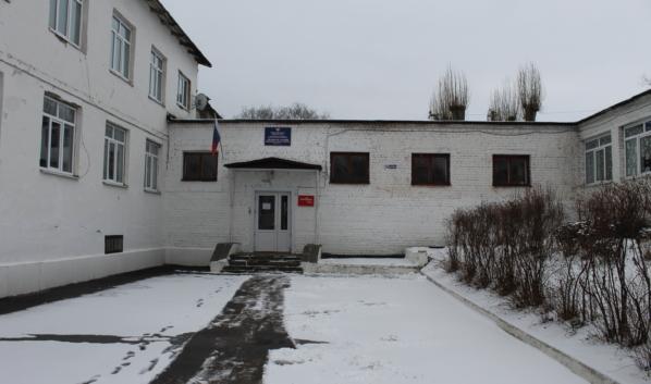 Так выглядит здание школы.