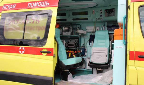 Пассажир попал в больницу.