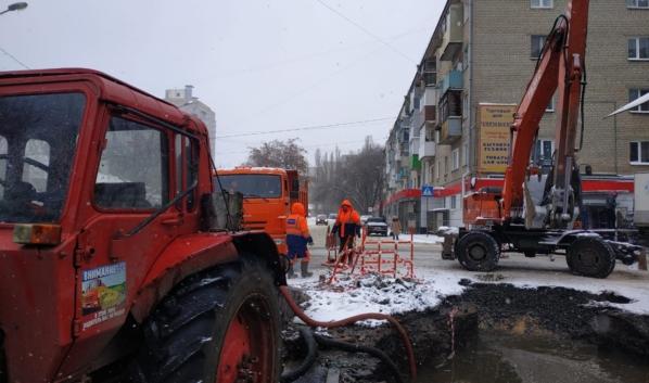 Кадр с места аварии на улице Шишкова.