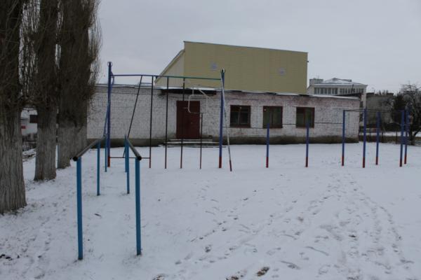 Площадка школы.