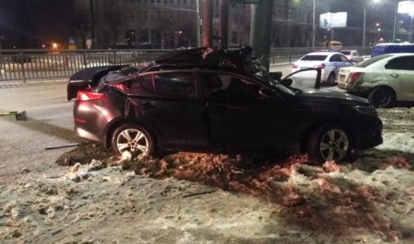 Водитель KIA Optima погиб.