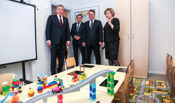 Два детских сада открылось в Воронеже.