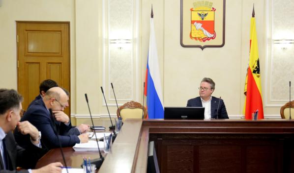 Совещание провел мэр Вадим Кстенин.