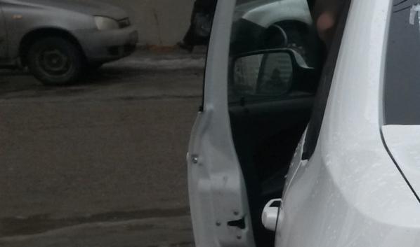 Сумка пропала из машины.