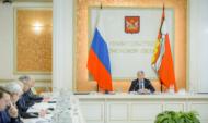 Заседание оперативного штаба провел Александр Гусев.