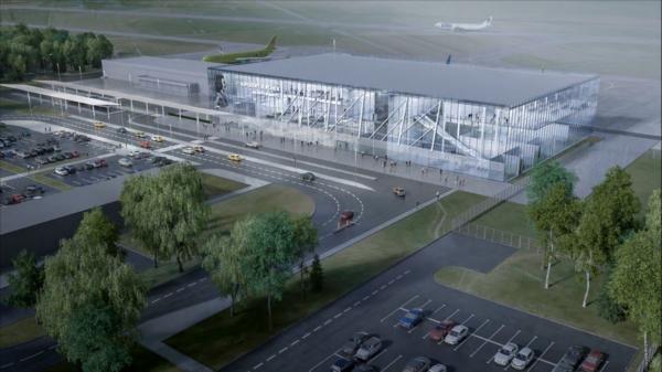 Так будет выглядеть аэропорт Воронежа.