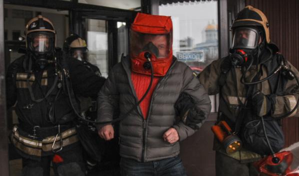 Вот так выглядит маска спасаемого.
