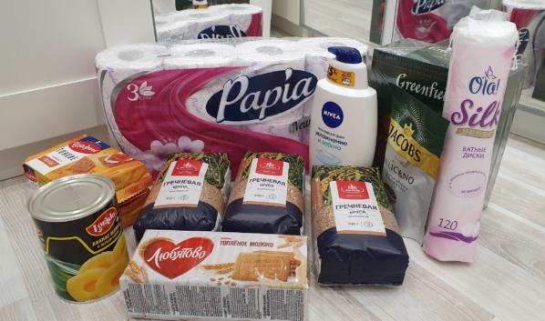 Пожилым людям и инвалидам на самоизоляции принесут домой продукты.