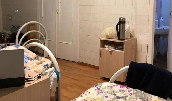 Пациенты лежали в этой палате.