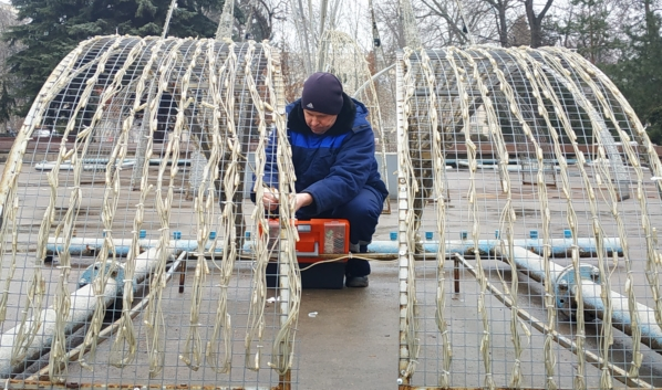 «Зимний фонтан» демонтируют.
