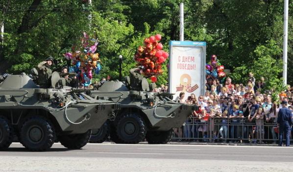 В этом году воронежцы увидят не только боевые машины, но и военных в форме 1943 года.