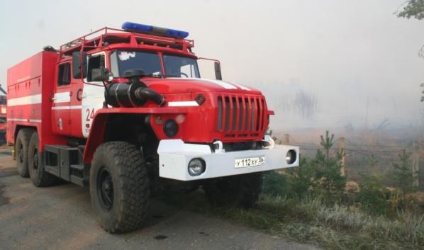 Участились случаи возгорания травы.