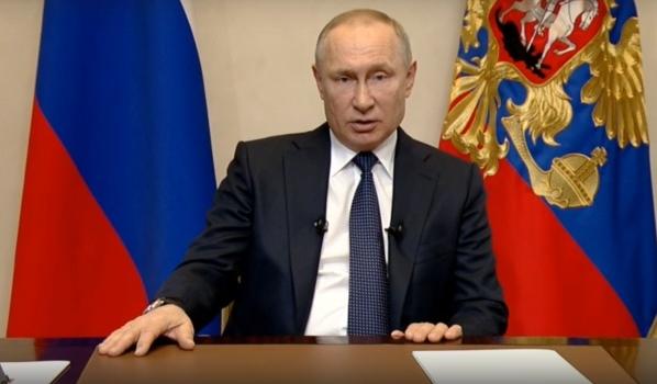 Владимир Путин выступил с обращением к россиянам о ситуации с распространением коронавируса.