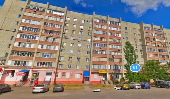 Дом №61 на улице Ростовской.