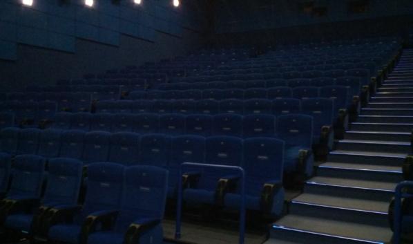 Кинотеатры пока продолжают работу.
