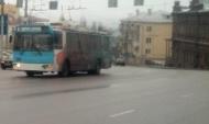 Троллейбус №8 в Воронеже.