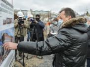 Александр Трубецкой рассказывает об объекте.