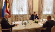 Заседание провел губернатор Александр Гусев.