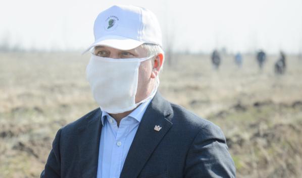 Губернатор Александр Гусев во время пандемии коронавируса.