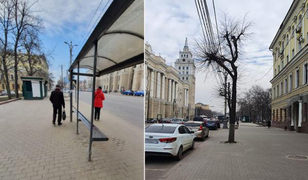 Остановку в центре Воронежа перенесут.