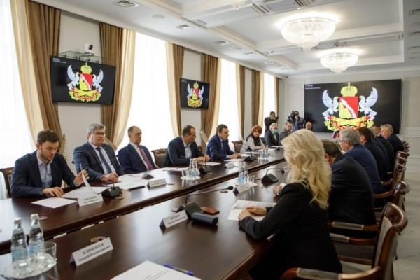 Заседание парламентского Совета по устойчивому развитию экономики региона.