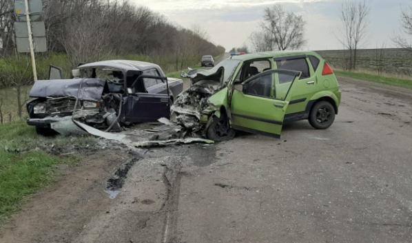 Авария в Калачеевском районе.