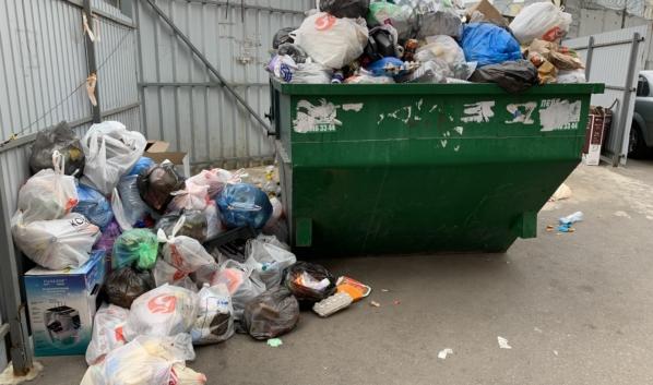 Воронежцы могут сообщить о переполненных мусорных площадках в мэрию через соцсети.
