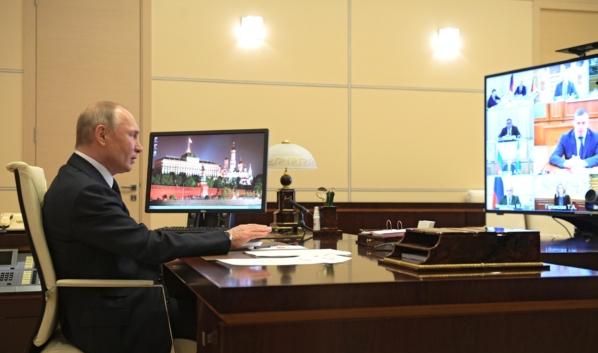 Владимир Путин провел совещание.