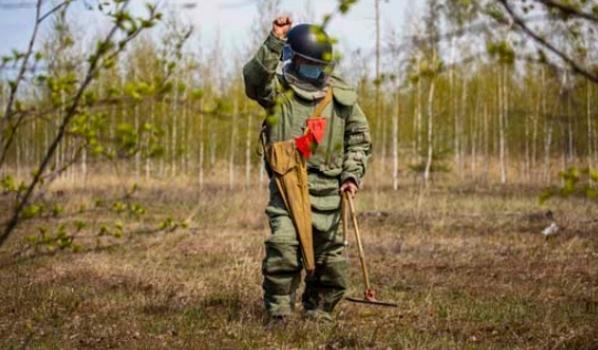 Военные изъяли боеприпас.