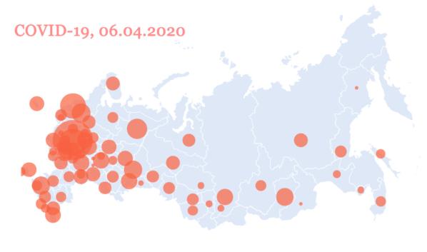 В России растет количество заболевших.