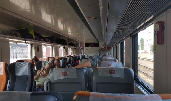 Теперь пассажиров поездов будут рассаживать дальше друг от друга.