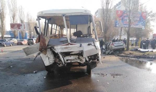 В аварии погибли четыре человека.