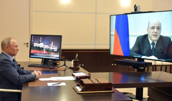 Михаил Мишустин сообщил президенту Путину о своем диагнозе.