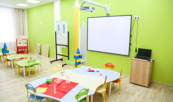 Детский сад в Воронеже.