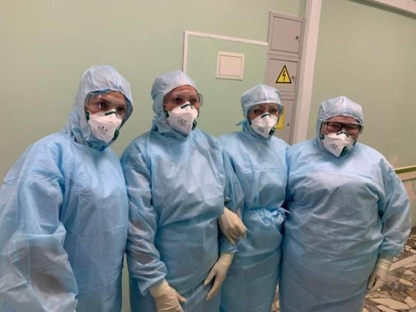 Врачи облбольницы готовы к приему больных с коронавирусом.