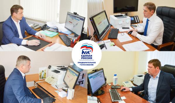Команда ДСК участвует в предварительном голосовании «Единой России».